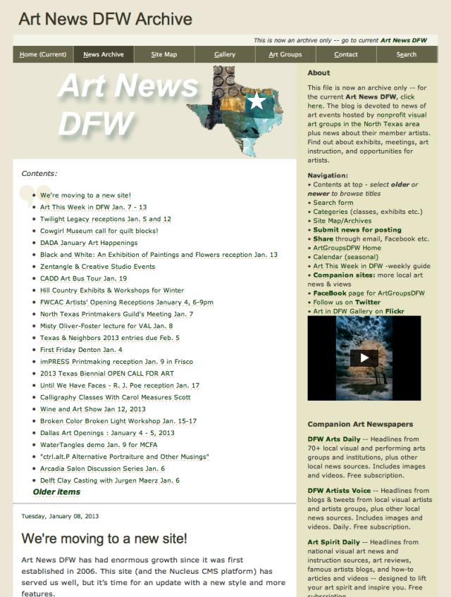 ArtNewsDFWarchive